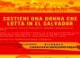 Campagna per manifestazione 8 marzo El Salvador